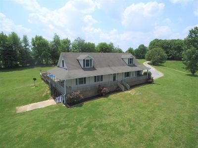 Robertson County Single Family Home For Sale: 5849 Hoods Branch Rd