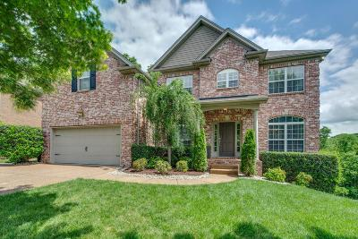 Brentwood Single Family Home Under Contract - Showing: 1553 Red Oak Ln