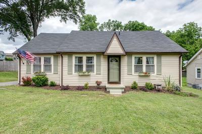 Sylvan Park Single Family Home For Sale: 5304 Elkins Ave