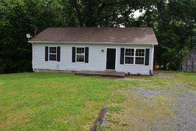 Clarksville Single Family Home Under Contract - Showing: 2809 Lark Dr