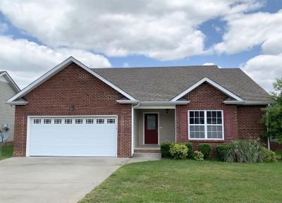 Clarksville Single Family Home Under Contract - Showing: 2693 Arthurs Ct