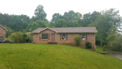Robertson County Single Family Home Under Contract - Not Showing: 3085 Southwark Dr
