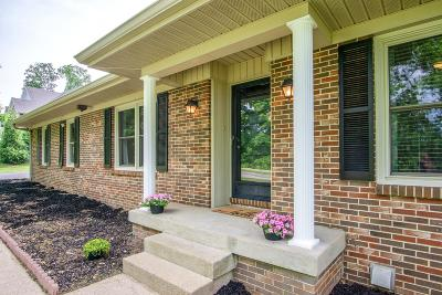 Columbia Single Family Home For Sale: 2072 Nashville Hwy