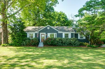 Nashville Single Family Home Under Contract - Showing: 521 Hogan Rd