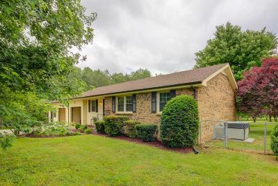 Adams, Clarksville, Springfield, Dover Single Family Home Under Contract - Showing: 972 Gip Manning Rd