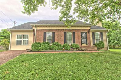 Hendersonville Single Family Home Under Contract - Not Showing: 106 Creekside Ct
