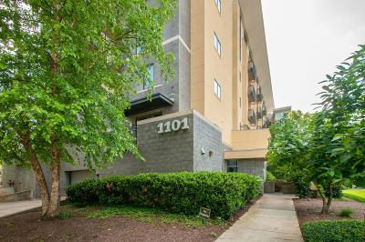 Nashville Condo/Townhouse Under Contract - Showing: 1101 18th Ave S Apt 509