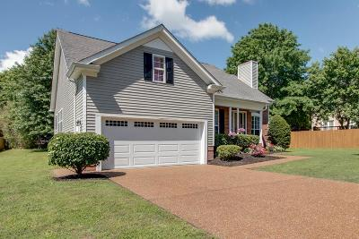 Williamson County Single Family Home Under Contract - Showing: 2605 Milton Ln