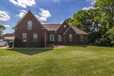 Murfreesboro Single Family Home Under Contract - Not Showing: 3749 Old Lebanon Pike