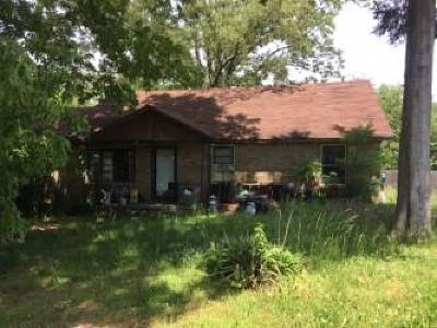 Clarksville Single Family Home Under Contract - Not Showing: 3191 E Attaway Rd