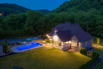 Hendersonville Single Family Home Under Contract - Showing: 3125 New Hope Rd
