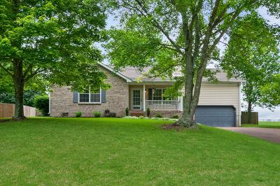 Williamson County Single Family Home Under Contract - Showing: 2746 Douglas Ln