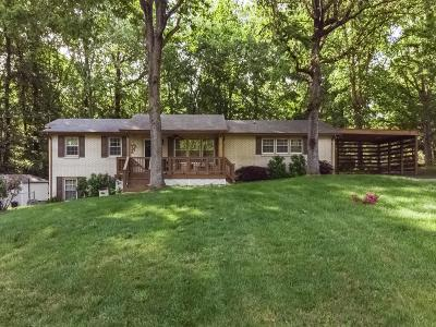 Kingston Springs Single Family Home Under Contract - Showing: 1009 Lone Pine Rd