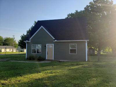 Oak Grove Single Family Home Under Contract - Not Showing: 111 New Gritton