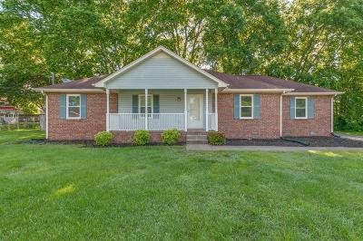 Smyrna Single Family Home Under Contract - Not Showing: 1002 Cedarstone Ct