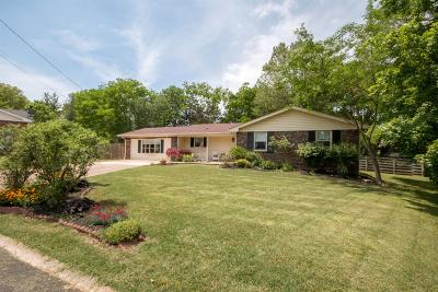 Nashville Single Family Home For Sale: 108 Bluewater Cir
