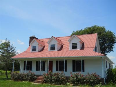Shelbyville Single Family Home For Sale: 200 Coble Rd