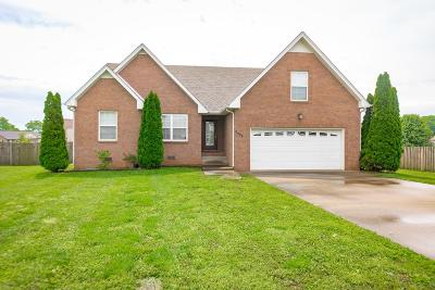 Clarksville Single Family Home Under Contract - Showing: 3854 Stella Dr