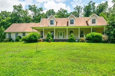 Dickson Single Family Home For Sale: 547 Grindstone Hollow Road