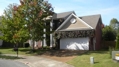 Spring Hill Single Family Home For Sale: 1004 Egret Ct