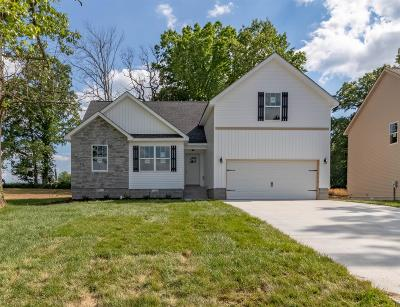 Clarksville Single Family Home For Sale: 1498 Trainer Rd
