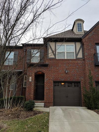 Hendersonville Single Family Home For Sale: 118 Ambassador Circle Pvt 10