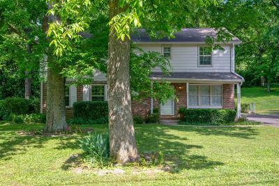 Nashville Single Family Home For Sale: 1046 Percy Warner Blvd