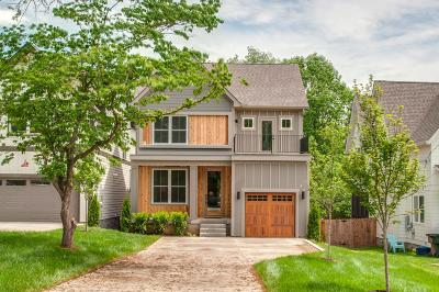 East Nashville Single Family Home Under Contract - Showing: 2433 B Chapman Dr