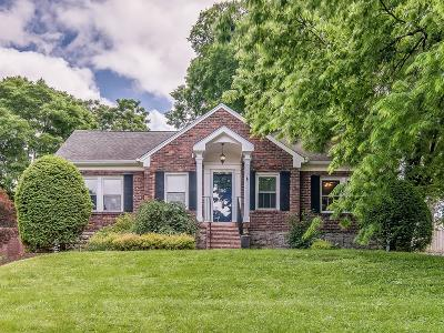 Nashville Single Family Home For Sale: 3502 Wilbur Pl