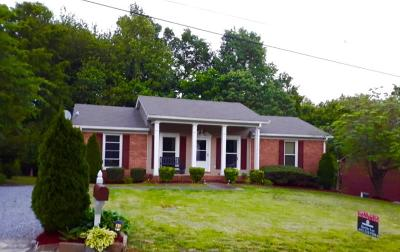 Ashland City Single Family Home Active Under Contract: 105 Ash Ct