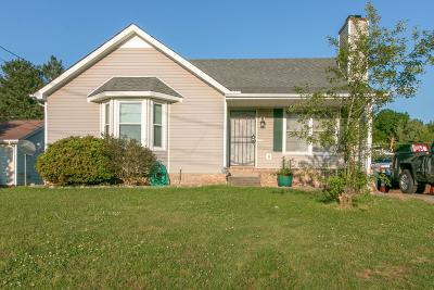 Clarksville Single Family Home Under Contract - Not Showing: 555 Anita Dr