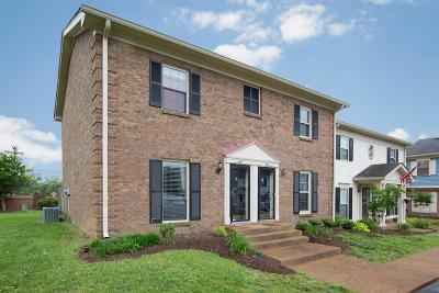 Williamson County Condo/Townhouse For Sale: 802 Brentwood Pt
