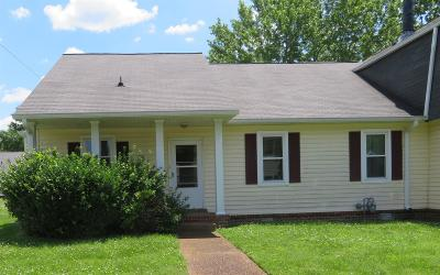 Davidson County Single Family Home Under Contract - Showing: 3714 Colonial Heritage Dr