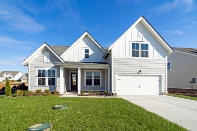 Murfreesboro Single Family Home For Sale: 1231 Proprietors Pl (126)