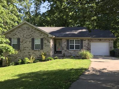 Dickson Single Family Home Under Contract - Showing: 103 Garden View Ct