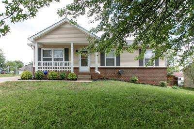 Christian County, Ky, Todd County, Ky, Montgomery County Single Family Home For Sale: 2811 Summertree Ln