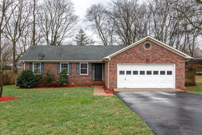 Single Family Home Active Under Contract: 2009 Cobb Drive