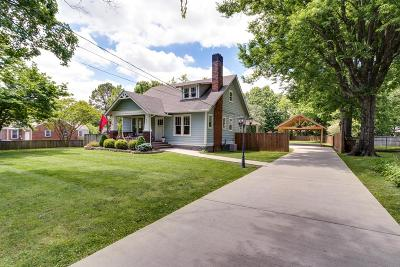 East Nashville Single Family Home Under Contract - Showing: 4201 Burrus St
