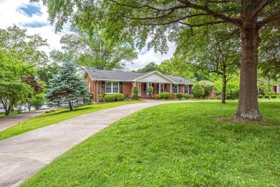 Hendersonville Single Family Home Under Contract - Showing: 290 Lake Terrace Dr