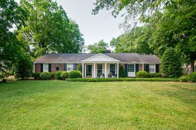 Nashville Single Family Home For Sale: 119 Keyway Dr