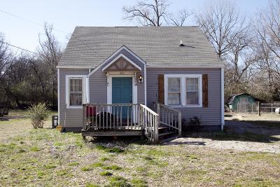 Shelbyville Single Family Home For Sale: 465 Evans St