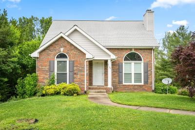 Clarksville Single Family Home Under Contract - Not Showing: 3109 Clydesdale Dr