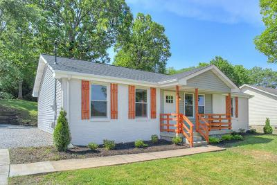 East Nashville Single Family Home Under Contract - Showing: 212 Broadmoor Dr