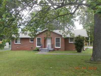 Shelbyville Single Family Home Under Contract - Not Showing: 107 Wade Dr