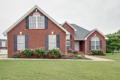 Murfreesboro Single Family Home Under Contract - Not Showing: 1705 Katelyn Ct