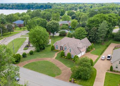 Gallatin Single Family Home Under Contract - Showing: 595 Bay Point Dr