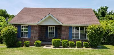 Clarksville Single Family Home For Sale: 1338 Chucker Drive