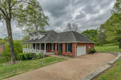 Brentwood Single Family Home Under Contract - Not Showing: 1325 Chestnut Dr