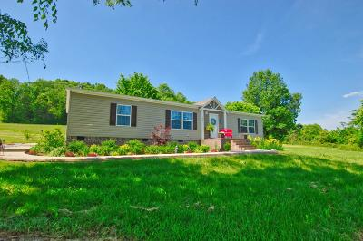 Auburntown TN Single Family Home Active Under Contract: $204,900