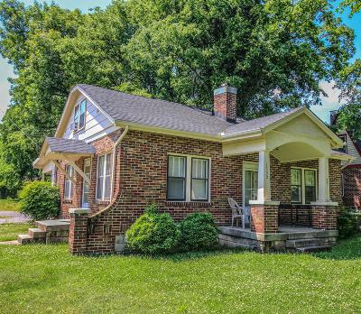 Davidson County Single Family Home Under Contract - Not Showing: 1300 Riverside Dr